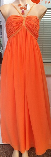 Orange Chiffon S6,8,12