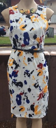Paint Splash Dress S12,14