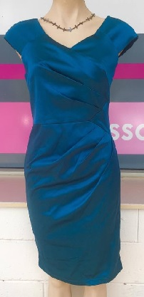 Kate Teal Dress S14