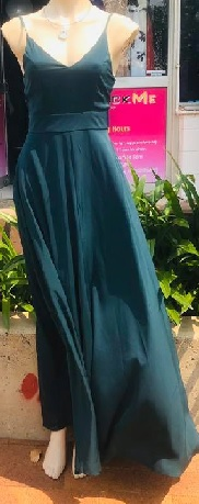 Teal Strappy Maxi S6,10