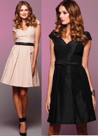 Party Dress Beige S16  Black S14 Brown S16,18