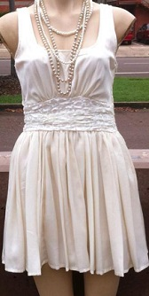 Cute Dress Cream S8,10,12