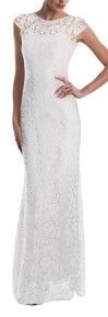 White Lace Gown S10/12