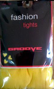 Tights Yellow